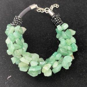 Jewelry - 🌸2/$15🌸 New Amazonite Chunky Bracelet